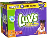 Health & Personal Care : Luvs Ultra Leakguards Diapers - Size 3 - 148 ct by Luvs