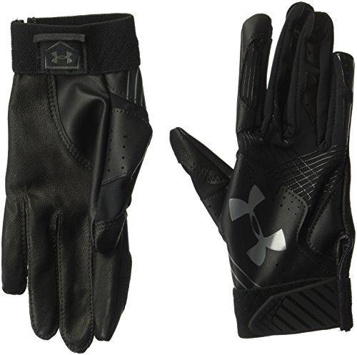 Under Armour Womens Radar Baseball Glove, Black (002)/Graphite, Large