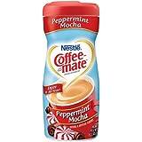 Coffee Mate Peppermint Mocha Creamer Powder, 15 Ounce -- 6 per case.