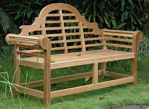Anderson Teak BH-195 - No Cushion Marlborough 2-Seater (2 Seater Bench Cushion)