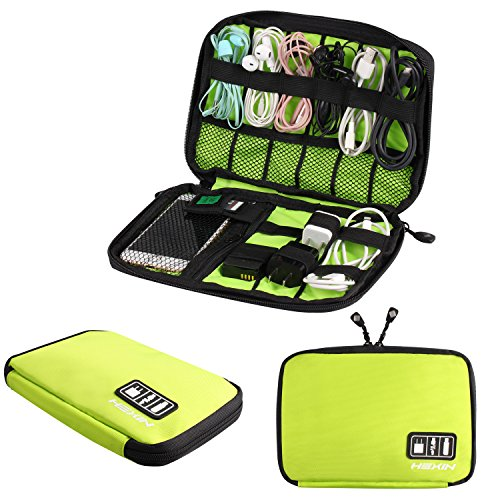 HEXIN-Portable-Double-Layer-Travel-Gear-Cable-Organizer-Electonics-Bags