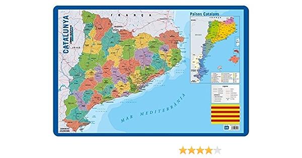 Grupo Erik Editores Lamina Educativa Catalan Mapa Catalunya: Amazon.es: Oficina y papelería