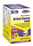 SuperNutrition Opti-Energy Pack Multivitamin, Iron-Free, EZ-Swallow, 90 packets of 4 tabs For Sale