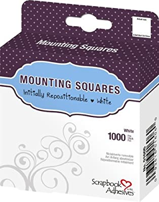 3L Repositionable Permanent Mounting Squares