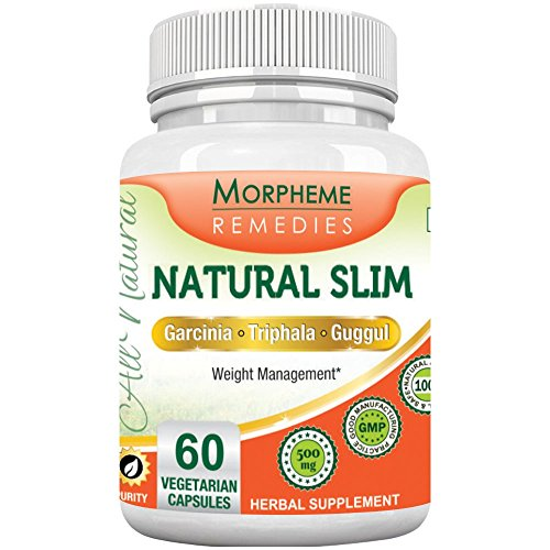 Morpheme NaturalSlim (Garcinia) 500mg Extract 60 Veg Caps