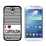 img - for Graphics and More I Love Heart Capitalism - Snap On Hard Protective Case for Samsung Galaxy S4 - Black book / textbook / text book