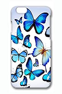 Butterflies 3 Slim Hard Cover for iPhone 6 Case (4.7 inch) PC 3D