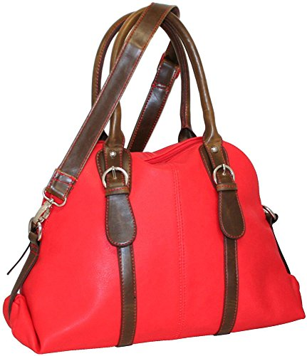 punto-uno-dolly-dome-satchel-red