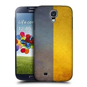 AIYAYA Samsung Case Designs Ukraine Ukrainian Vintage Flags Protective Snap-on Hard Back Case Cover for Samsung Galaxy S4 I9500