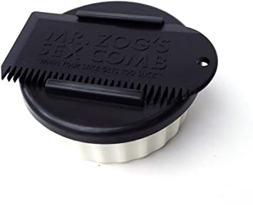 Mr Zoggs Sex Wax Wax Pot and Comb.