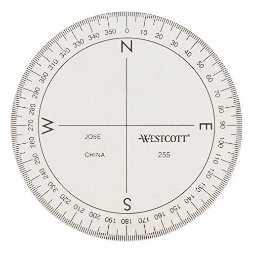 Westcott Protractor Measuring Tool (255)