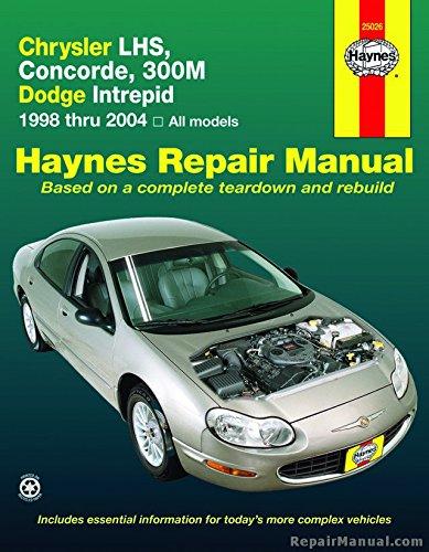 H25026 Haynes Chrysler LHS Concorde 300M and Dodge Intrepid 1998-2004 Auto Repair Manual