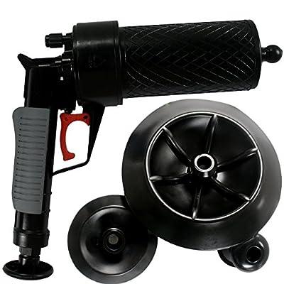 High Pressure Kitchen Toilet Drain Pipes Sinks Air Power Blaster Cleaner Plunger