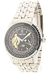 Mens Croton Imperial Automatic 24hr Time Day/night Watch C1331080sssk