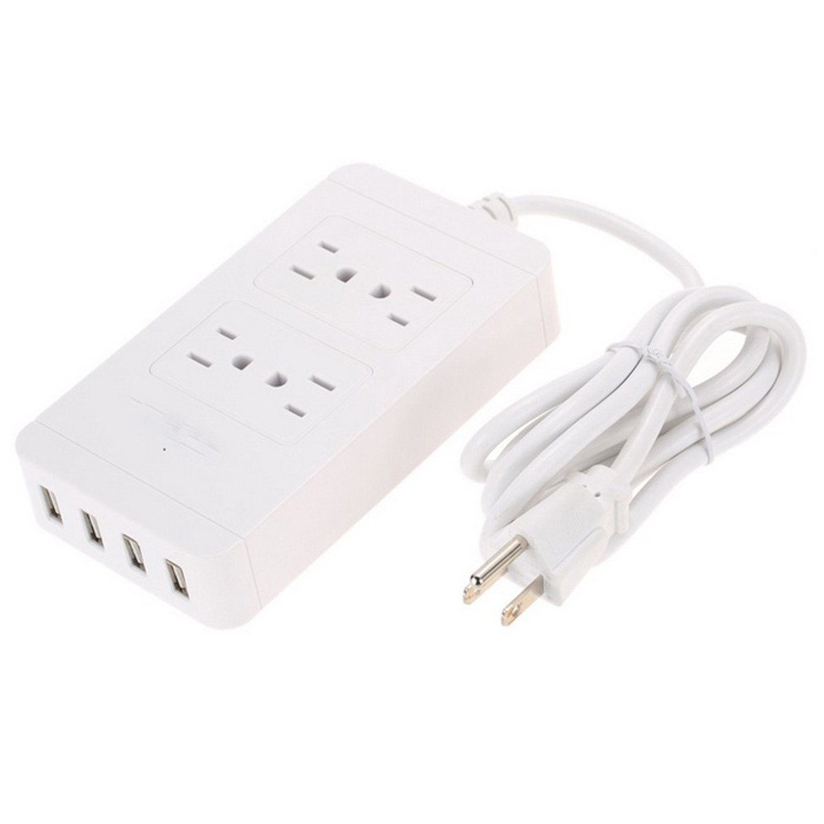 Iextreme 4 USB Port Power Supply Board Socket Charger - White