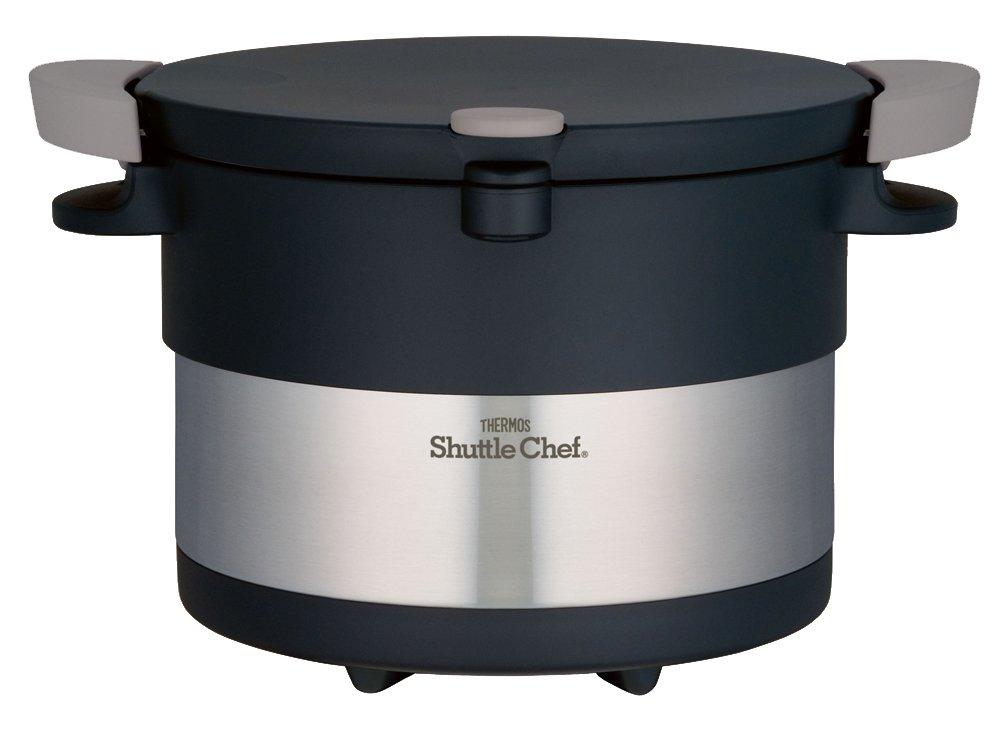 サーモス 真空保温調理器 シャトルシェフ 3.0L ステンレスブラック KBC-3001 SBK   B00AYC8U0Q