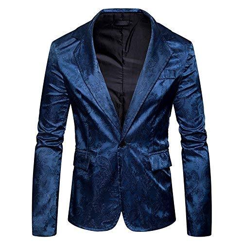 Longues Veste Homme Tuxedo Manches Manteau Casua Mariage Fit Moderne Marineblau Slim Élégant Costume Vintage Men's Blazer À Cocktail Jacket Gris TdtawTq