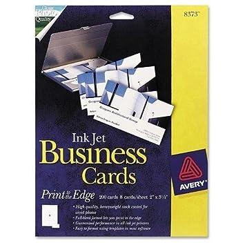 Amazon 8373 avery business card 2 x 350 0 recycled 8373 avery business card 2quot x 350quot 0 recycled content accmission Choice Image