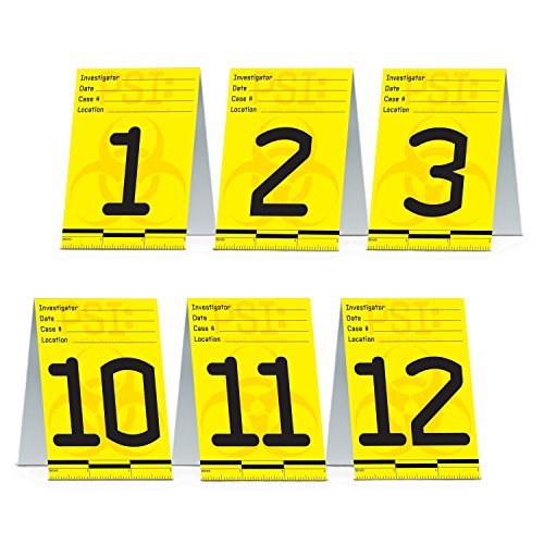 [Beistle 57833 12-Pack PSI Table Cards, 41/4 by 3-Inch] (Crime Scene Decorations)