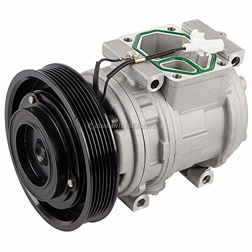 AC Compressor & A/C Clutch For Toyota Corolla 1998 1999 2000 2001 2002 - BuyAutoParts 60-01432NA NEW -