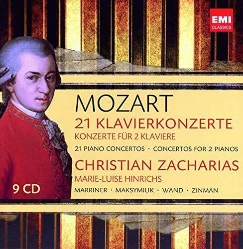 Mozart: 21 Piano Concertos / Concertos for 2 Pianos