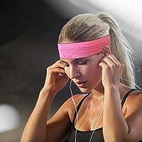 3PACK Women Sports Headband/SweatBand Hairband For Cycling/Running/Walking Men Girls from Kereith Home