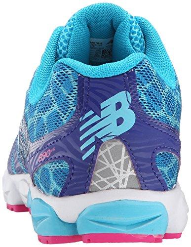 New Balance Unisex-Kinder Lifestyle Sneaker, Blau, 39 EU