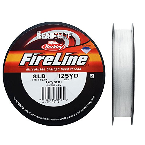 (Fireline Braided Beading Thread, 8 LB Test and .009