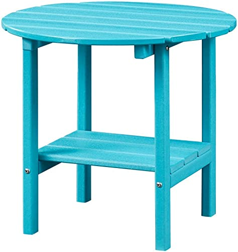 Ehomexpert Outdoor Side Table-Adirondack Portable Rectangular End Table