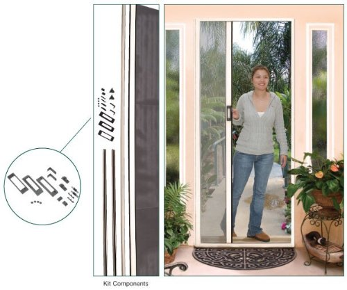 Retractable Screen Euro Style Height Almond