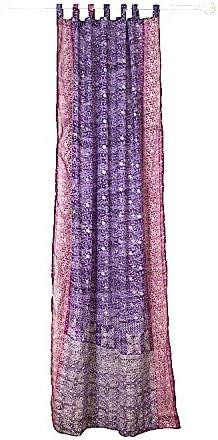 Colorful Window Treatment Draperies Indian Sari Panel 108 96 84 inch
