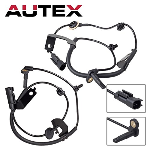 AUTEX ABS Wheel Speed Sensor Front Left + Front Right For 2007-2012 Jeep Patriot Compass 2.0L 2.4L