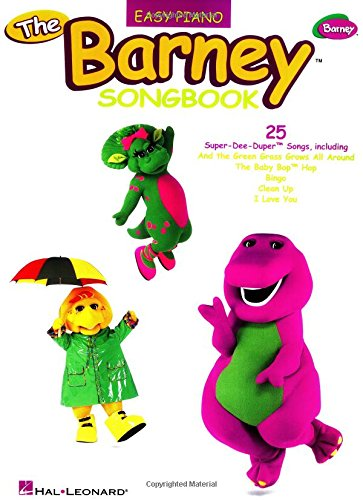 The Barney Songbook (Easy Piano (Hal Leonard))