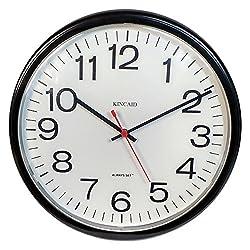 Kincaid Always Set Wall Clock, White Face