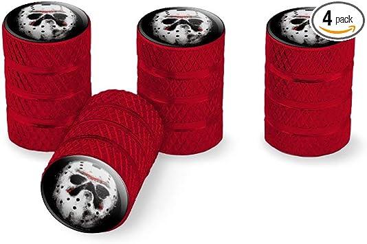4 x Purple Hexagon Aluminum Alloy Tire Valve Caps for Car Auto DT