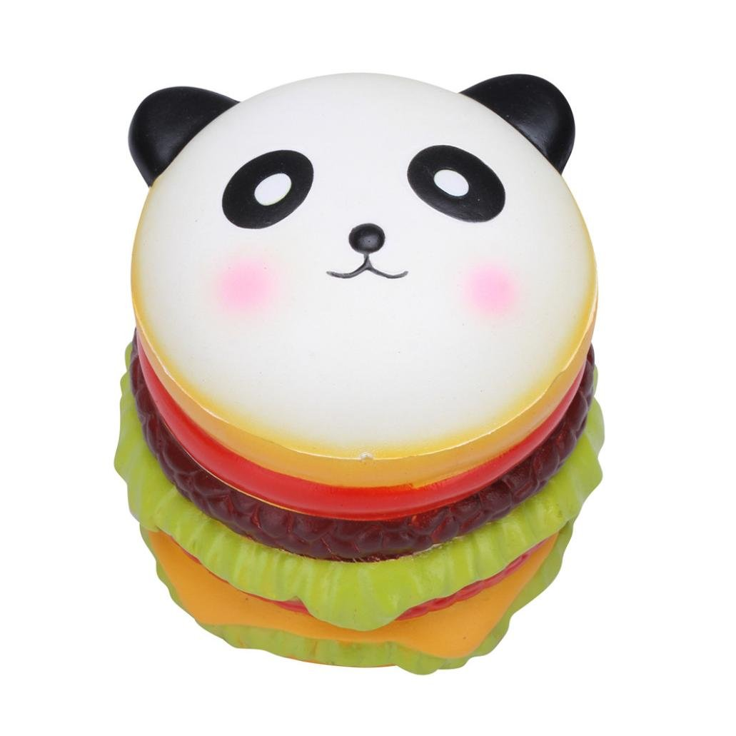 CSSD Squishy {Hamster/Panda Burger/Strawberry Mouse/Jumbo Strawberry Cake/Cartoon Big Eye Bear/Moon Unicorn/Cute Panda Cake} {Slow Rising} {Stress Reliever} Fun Squeezable Healing Gifts To (D)