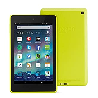 "Fire HD 6 Tablet, 6"" HD Display, Wi-Fi, 8 GB - Includes Special Offers, Citron"