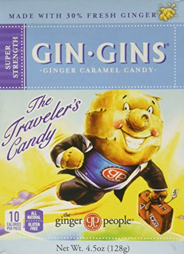 Ginger People Gin Gins Boost Ultra Strength Ginger Candy - 4.5 - Candy Gin Ginger Gins