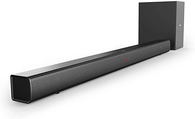 Barra de Sonido Bluetooth Philips HTL1520B/12 (Bluetooth, Subwoofer Inalámbrico, HDMI ARC, Entrada de Audio de 3.5 mm, Diseño Plano, 70 Vatios), Color Negro: Amazon.es: Electrónica
