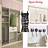 2 Sided Hanging Jewelry Organizer with 24 Pockets