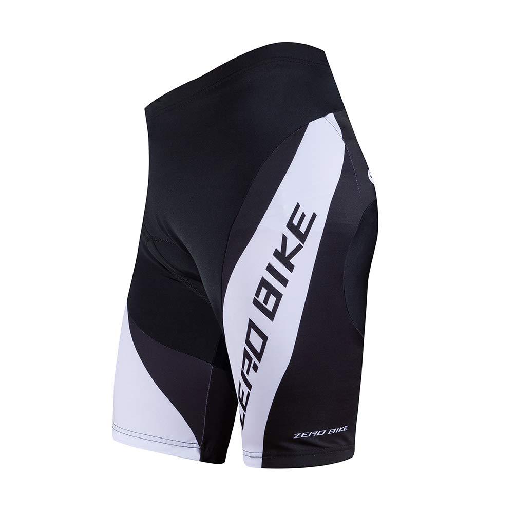 3D Gel rembourr/é Respirant /à s/échage Rapide v/élo de Montagne v/élo serr/é Shorts Homme Short de Cyclisme