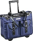 Marquam Rolling Laptop Tote 18.4'' (Navy Blue)