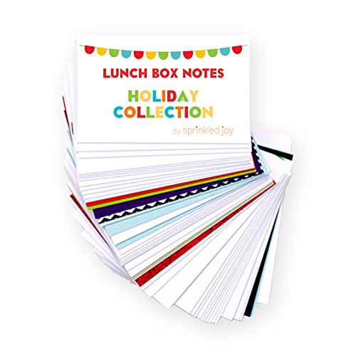 Sprinkled Joy 52 Designer Lunchbox Notes Holiday
