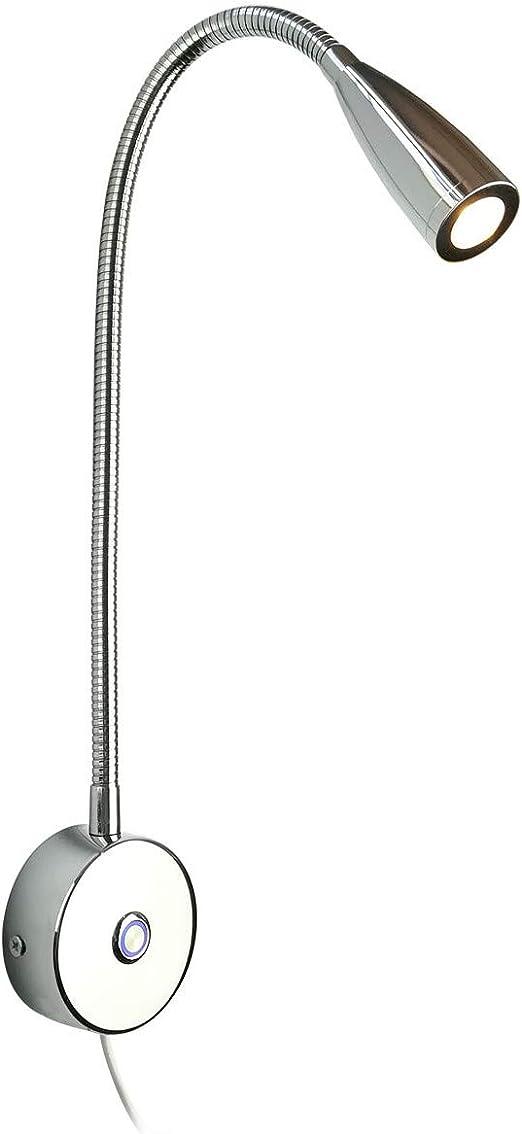 3W 12V Schwanenhals LED Leselampe Bett Lampe verstellbare Wandleuchte