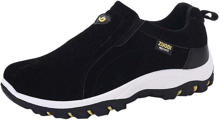 Fannyfuny_Zapatos para Hombre Zapatillas Hombres Deportivas Zapatos de Vestir al Aire Libre Zapatos de Cordones para Hombre Conducción Zapatillas Casual Sneakers: Amazon.es: Zapatos y complementos