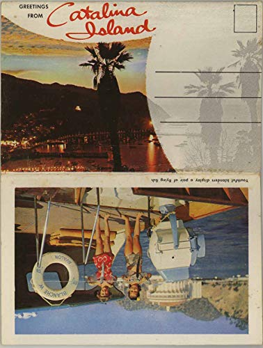 Catalina Island California - 1956 Colourpicture Souvenir Postcard Folder