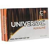 Kinetik 53314 C Alkaline Batteries (24 Pack), Silver
