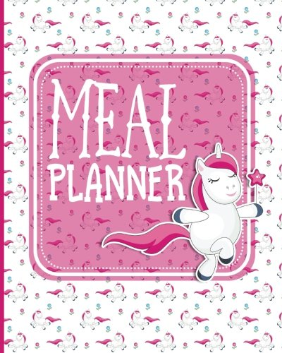 Meal Planner: Family Weekly Meal Plan with Grocery List - Unicorns Cover (Volume 36) ebook