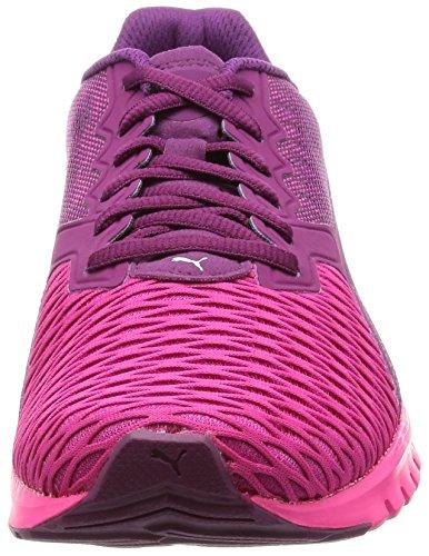 Ignite Dual GLO PURPLE Shoes Running Ladies Puma MAGENTA PINK dgpfqd