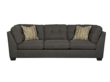 Exceptionnel Amazon.com: Benchcraft   Delta City Contemporary Living Room Sofa   Steel  Gray: Kitchen U0026 Dining